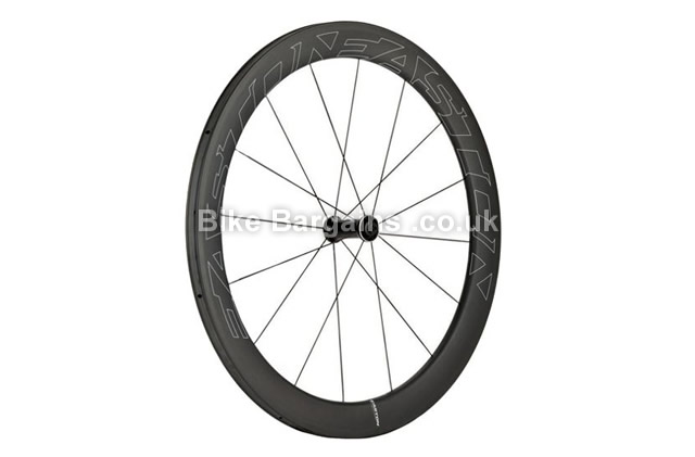 Easton EC90 Carbon Aero 55 Tubular 700c Road Front Wheel 2016 black, 700c