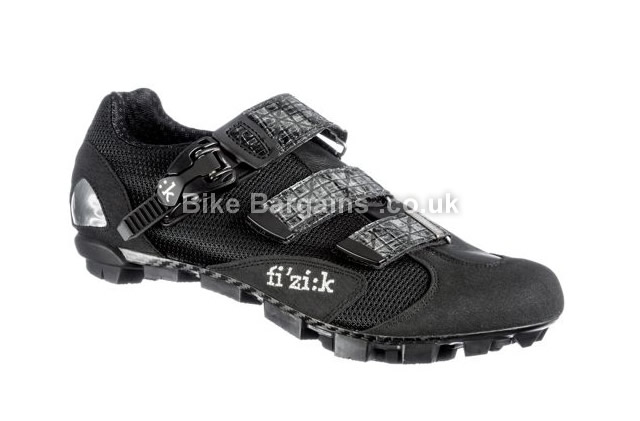 Fizik M1 MTB Leather SPD Shoes black, 45.5