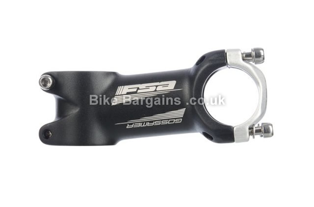 FSA Gossamer OS-148LX Alloy CNC Stem 110mm, black, 31.8mm