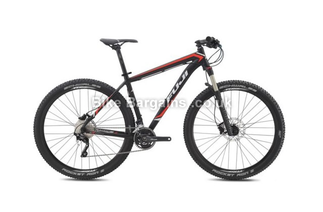 "Fuji Tahoe 29 inch 1.5 Hardtail Mountain Bike 2015 15"", black, 29"""