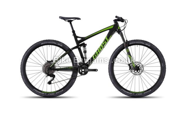 "Ghost AMR 4 Alloy 29 inch Full Suspension Mountain Bike 2016 15.75"", 19"", 20.5"""