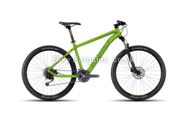 "Ghost Kato 4 Alloy 27.5 inch Hardtail Mountain Bike 2016 21"", green"