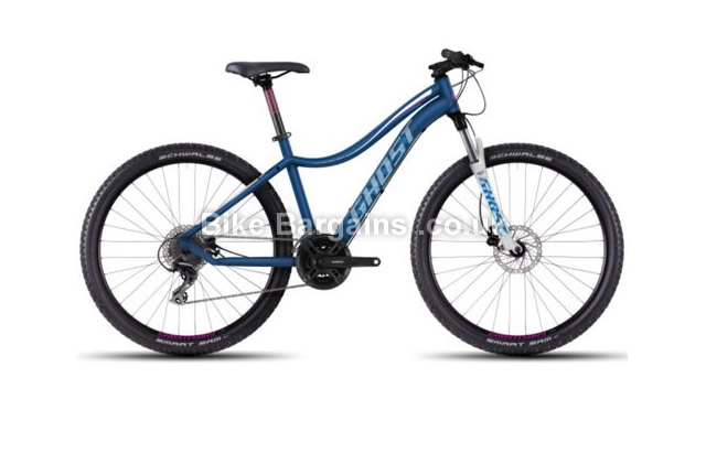 "Ghost Lanao 2 Ladies Alloy 27.5 inch Hardtail Mountain Bike 2016 19"", blue"