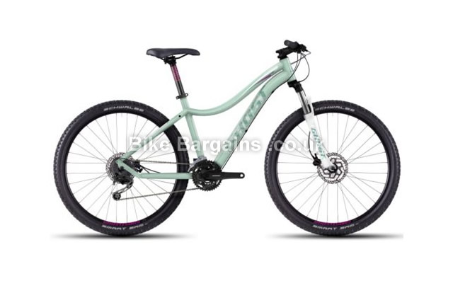 "Ghost Lanao 3 Ladies Alloy 27.5 inch Hardtail Mountain Bike 2016 18"", 19"", 19.75"""