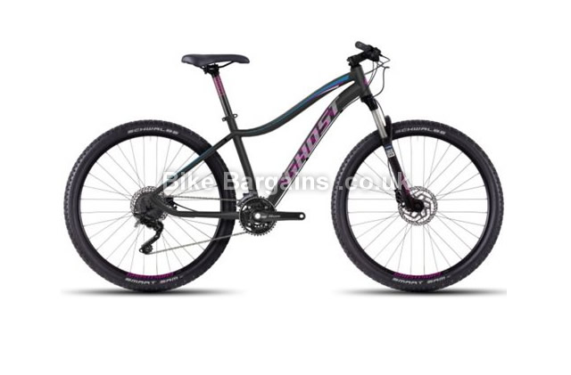 "Ghost Lanao 7 Ladies Alloy 27.5 inch Hardtail Mountain Bike 2016 19"", 19.75"", black"