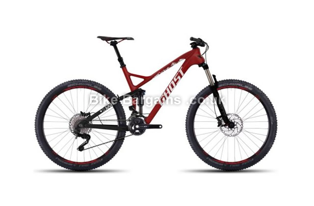 Ghost SL AMR LC 8 Full Suspension Mountain Bike 2016 48cm, 52cm