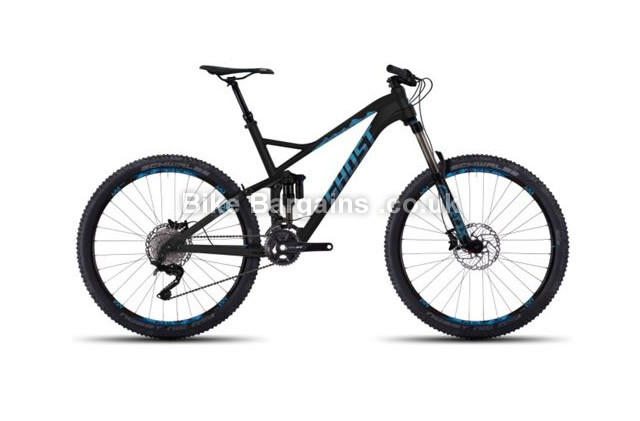 "Ghost SL AMR X 7 27.5 inch Full Suspension Mountain Bike 2016 19"", 20.5"", 22"""