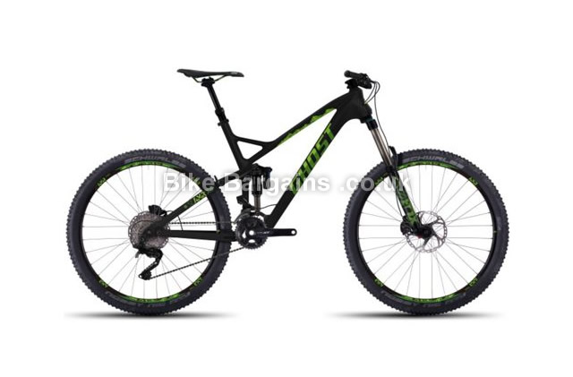 Ghost SL AMR X LC 8 27.5 inch Full Suspension Mountain Bike 2016 19""
