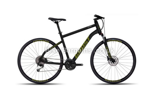 Ghost Square Cross 4 Hybrid City Bike 2016 700c, black, 47cm, 57cm