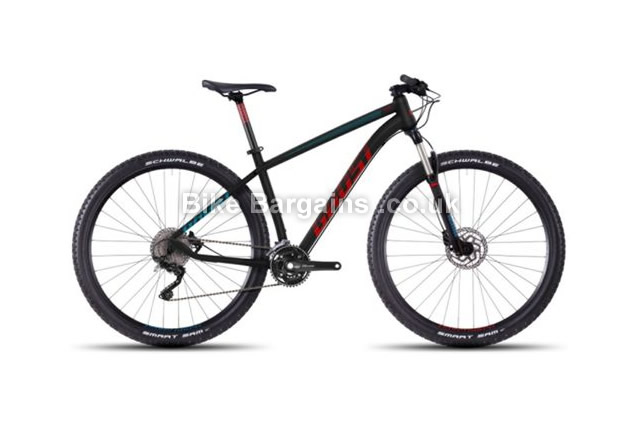 "Ghost Tacana 7 29 inch Alloy Hardtail Mountain Bike 2016 15"", 16.5"""
