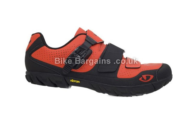 Giro Terraduro SPD MTB Shoes 41,44, red