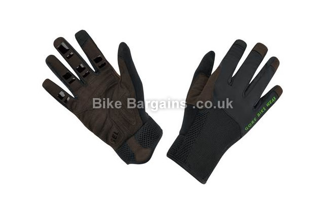 Gore Bike Wear Power Trail Long Road Gloves black, XL
