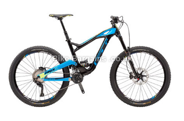 GT Force Carbon Pro Full Suspension Mountain Bike 2016 S,M,L,blue