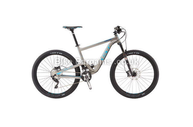 GT Helion Expert Alloy Full Suspension Mountain Bike 2016 S - M,L,XL are slightly more
