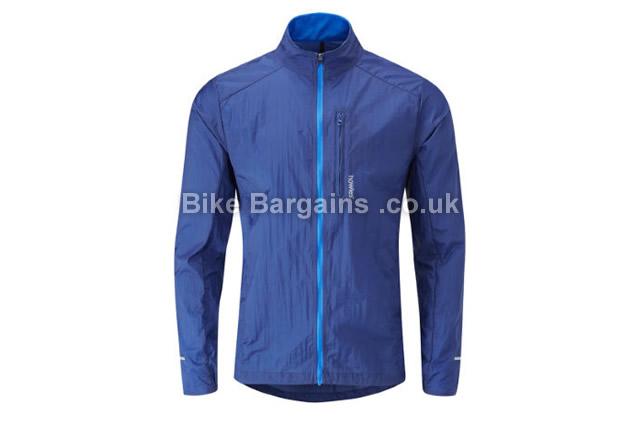howies Hoodless Helium Weathershield Jacket blue, S,M,L,XL