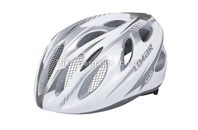 Limar BC660 Road Cycling Helmet White, Silver, L