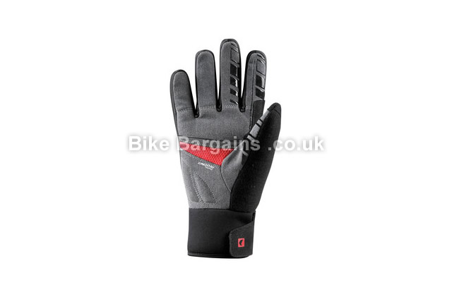 Louis Garneau Gel Ex Wind Water Resistant Gloves black, XXL