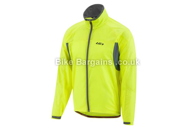 Louis Garneau Blink RTR Reflective Softshell Road Jacket XS, L, yellow