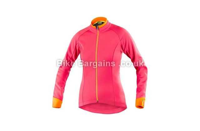 Mavic Aksium Ladies Thermo Jacket L, Red - S is extra