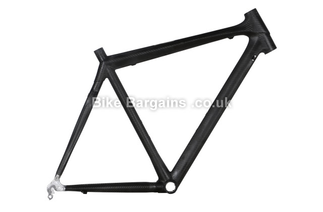 Merlin 3XM Raw Unfinished Carbon Road Cycling Frame black, 49cm