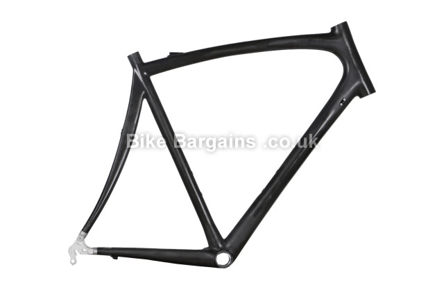 Merlin AXM Raw Unfinished Carbon Caliper Road Frame 60cm, Black, Carbon, Caliper Brakes, 700c