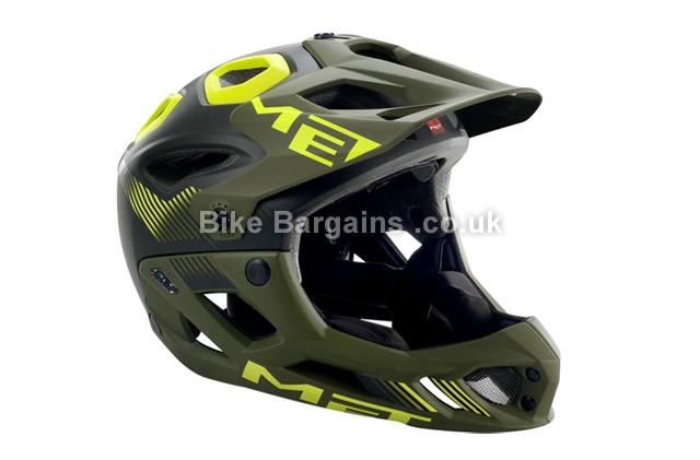 MET Parachute Full Face MTB Helmet 2016 S
