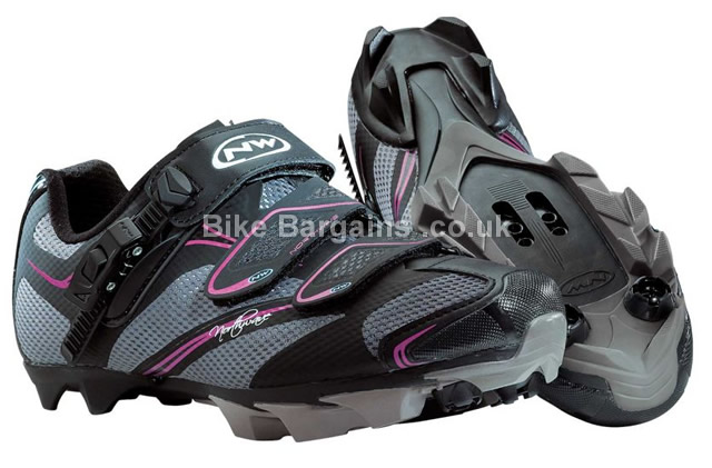 Northwave Katana SRS Ladies SPD MTB Cycling Shoes black, 36, 37