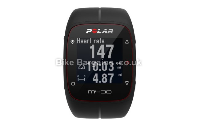 Polar M400 GPS Heart Rate Monitor Watch GPS and HRM
