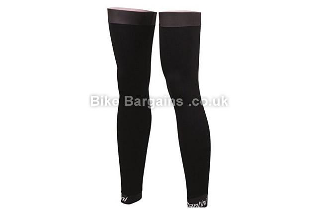 Santini B-HOT Legwarmers black, XS, S