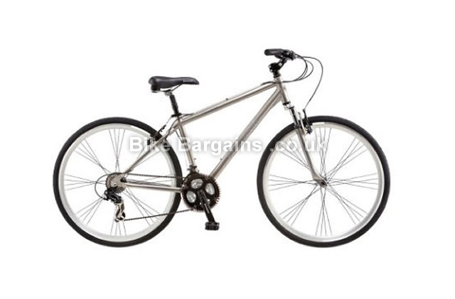 Schwinn Trailway Alloy Hybrid City Bike 2016 grey