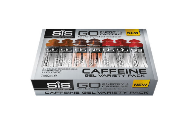 Science in Sport Caffeine Gels Variety 7 pack 7 x 60ml