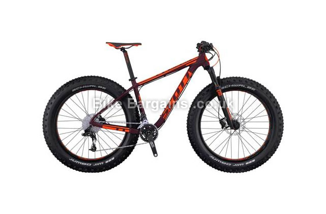 Scott Big Ed Fat Mountain Bike 2016 M