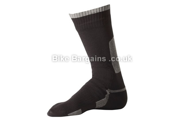 SealSkinz Thin Mid Length Waterproof Cycling Sock S