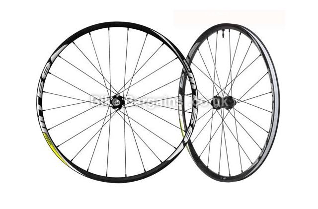 """Shimano MT68 26 inch MTB Wheelset 26"""", front and rear"""