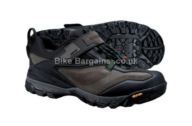Shimano MT71 MTB Gore-Tex SPD Shoes 2015 40, brown