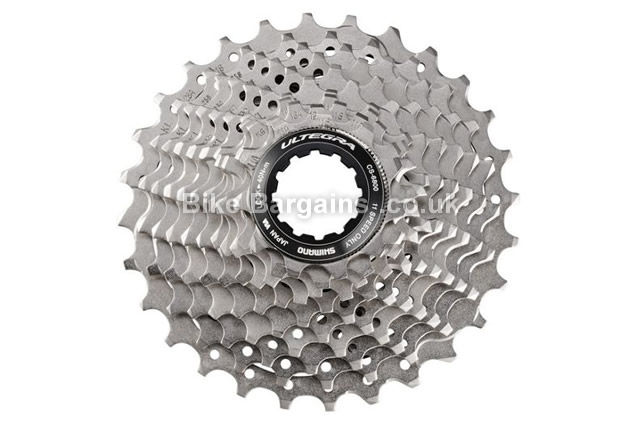 Shimano Ultegra 6800 11 Speed Cassette 212g, various ratios, silver, road