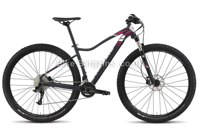 Specialized Jett Expert Ladies Alloy Hardtail Mountain Bike 2015 black, S