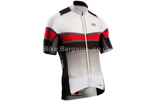 Sugoi Mens RSE Short Sleeve Road Jersey white, S,L