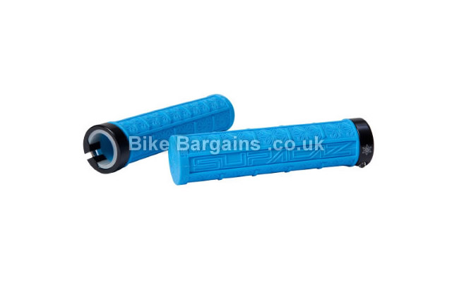 Supacaz Grizips Lock-On Mountain Bike Grips various colours