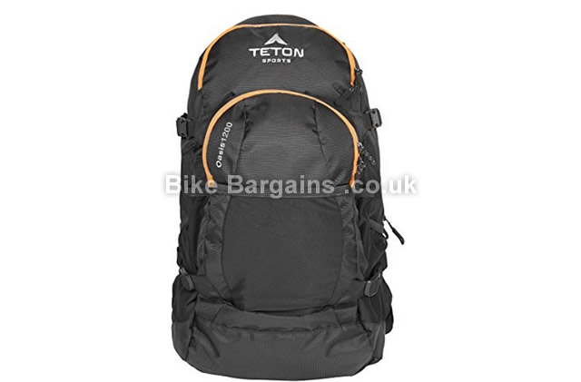 Teton Sports Oasis 1200 Hydration Cycling Backpack black, 19.5 litres, 3 litre bladder