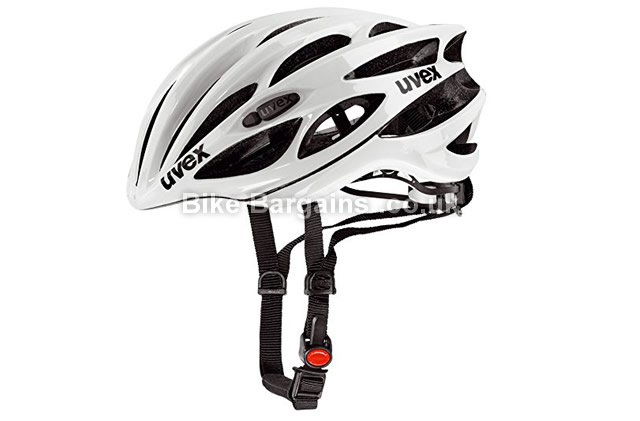 Uvex FP Race 1 Cycling Helmet white