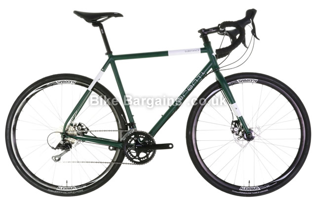 Verenti Substance Sora Disc Cyclo-cross Road Bike 2016 54cm, 56cm, green
