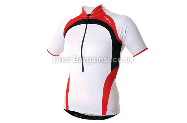 Altura Synergy Short Sleeve Ladies Cycle Jersey 2014 12, 16, White, Red