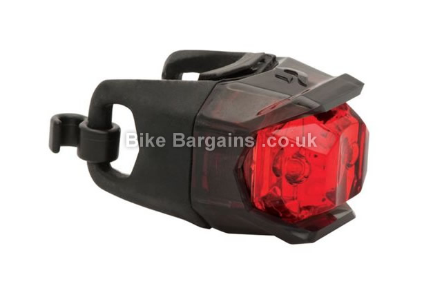 Blackburn Mars Click Twin LED Rear Light black, rear