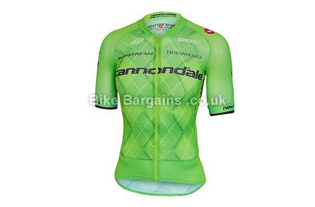 Castelli Cannondale Climbers 2.0 Short Sleeve Road Jersey 2016 S,M,L,XXL,green