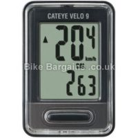 Cateye Velo 9 Function Wired Cycle Computer