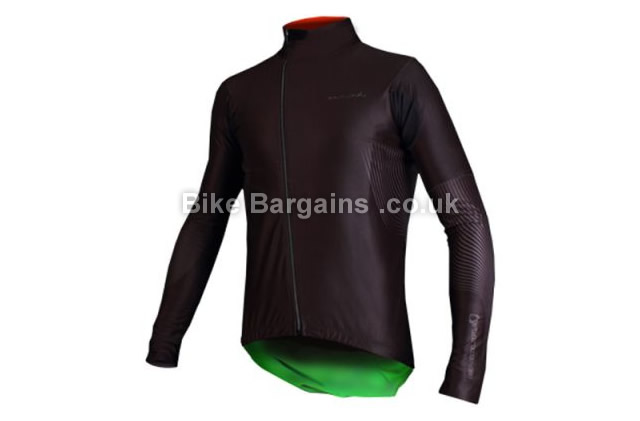 Endura Equipe Classics Waterproof Windproof Jersey L,XL,black