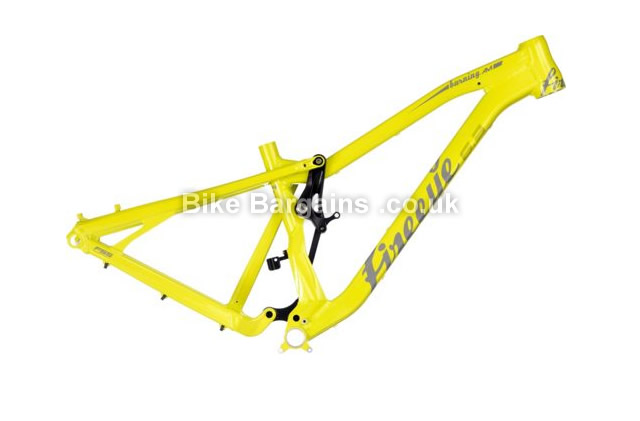 Fire Eye Burning AM Full Suspension MTB Frame 2016 S, yellow