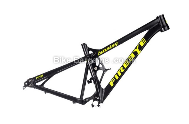 Fire Eye Burning Full Suspension MTB Frame 2014 black, yellow