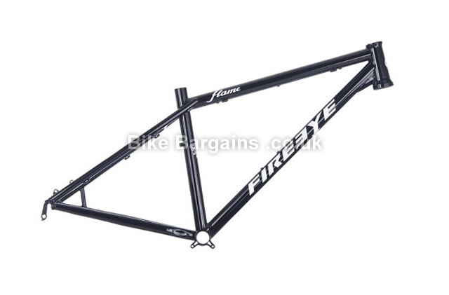 Fire Eye Flame Steel Hardtail Mountain Bike Frame 2015 XS,S,L, black, green